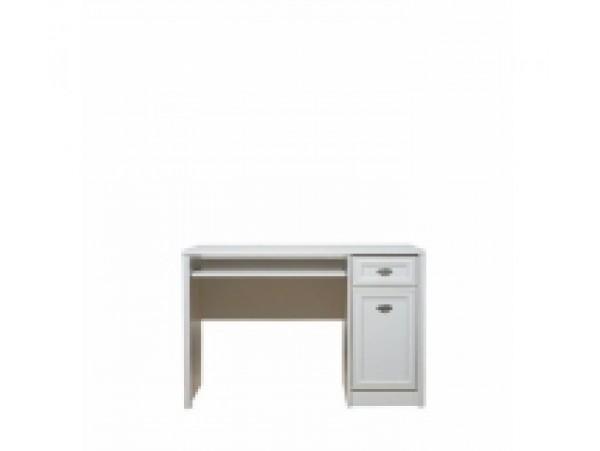Салерно 013*письменный стол biu1d1s 120*78.5*64.5 белый